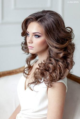 72 Best Wedding Hairstyles For Long Hair 2019 | Wedding Forward In Loose Curls Hairstyles For Wedding (View 24 of 25)