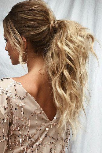 72 Best Wedding Hairstyles For Long Hair 2019 | Wedding Forward pertaining to Formal Bridal Hairstyles With Volume
