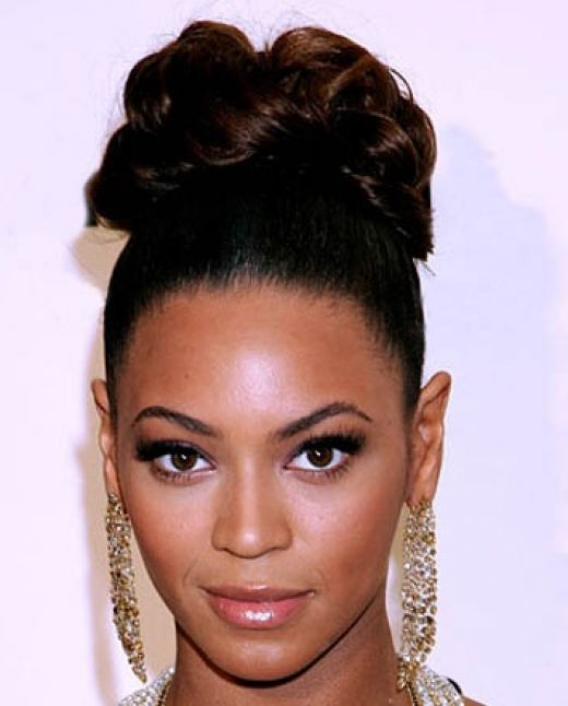 75 Handy Wedding Hairstyles For Black Brides To Feel Special Pertaining To Pompadour Bun Hairstyles For Wedding (Gallery 12 of 25)