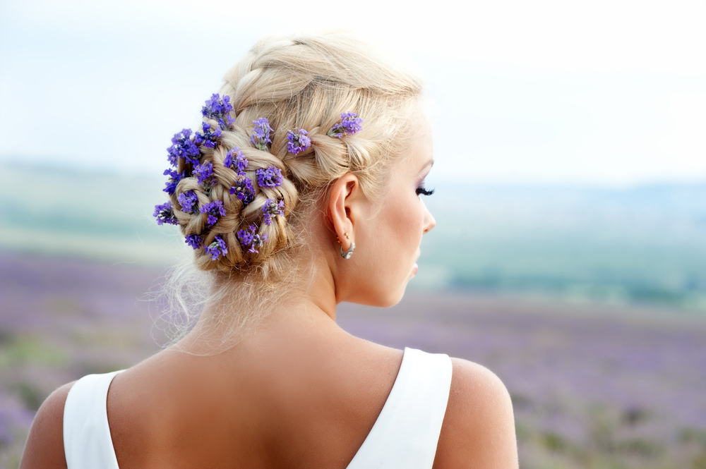 75 Stunning Wedding Hairstyles For Women In 2019 in Braided Lavender Bridal Hairstyles