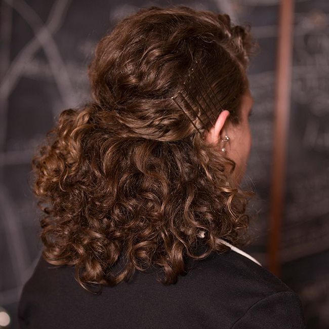 8 Professional Hairstyles For Curly Hair | Naturallycurly Throughout Professionally Curled Short Bridal Hairstyles (Gallery 20 of 25)