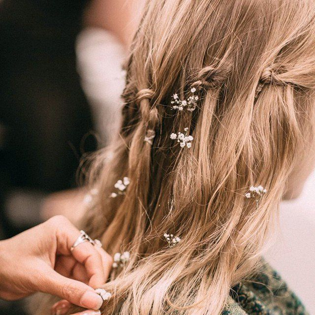 9 Free Spirited Ways To Be A Gorgeous Bohemian Bride 1 | Wedding Within Bohemian And Free Spirited Bridal Hairstyles (View 9 of 25)
