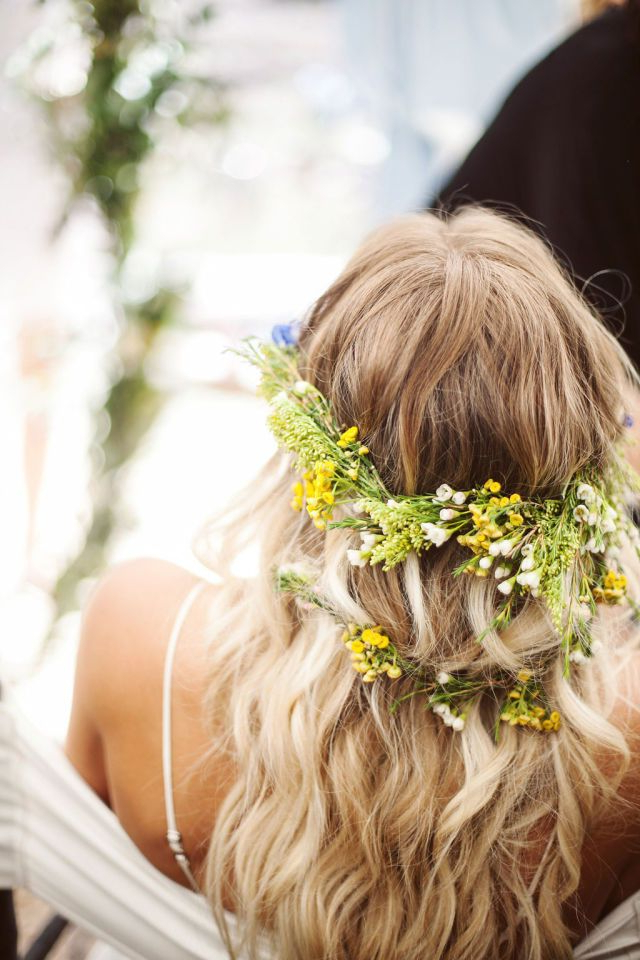 9 Free Spirited Ways To Be A Gorgeous Bohemian Bride | Bohemian Within Bohemian And Free Spirited Bridal Hairstyles (View 11 of 25)