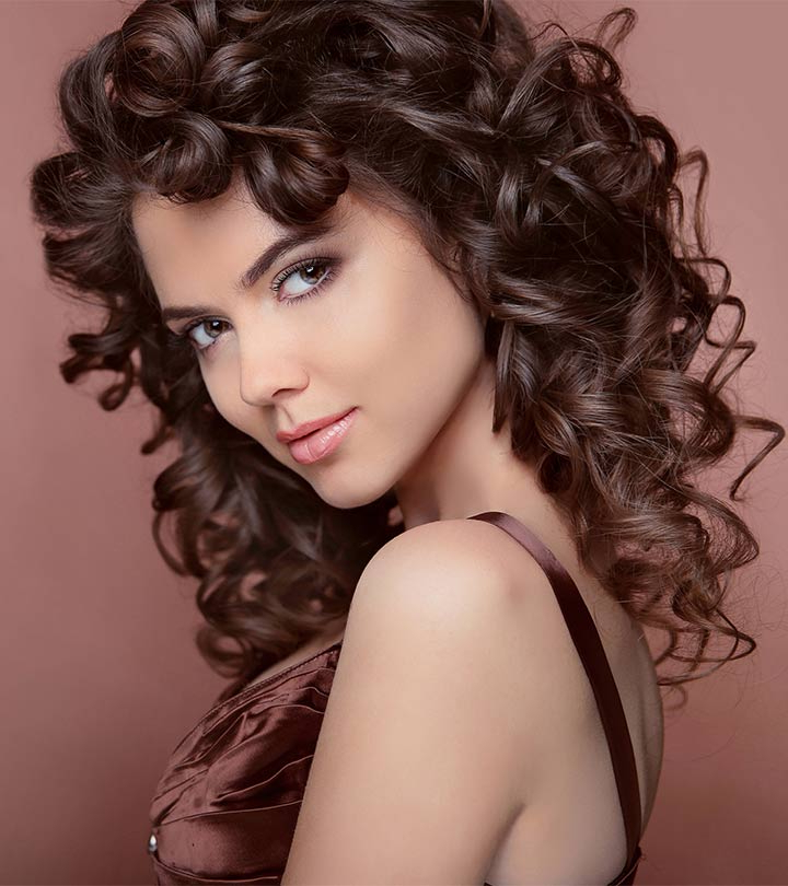 9 No Heat Ways To Curl Your Hair With Regard To Large Hair Rollers Bridal Hairstyles (View 22 of 25)