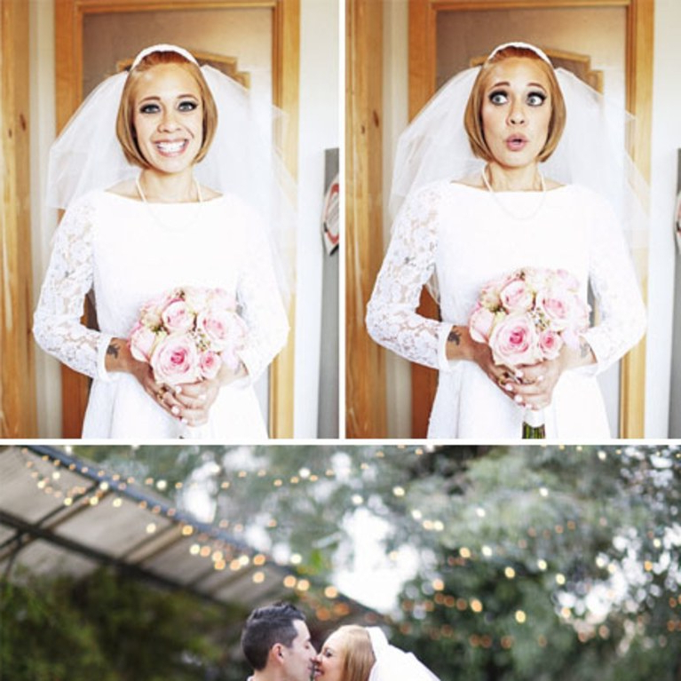 A Short And Sweet Wedding Hairstyle Idea | Brides Throughout Short And Sweet Hairstyles For Wedding (View 23 of 25)