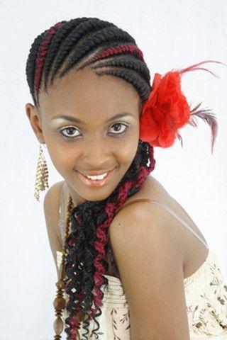 Abuja Linesdarling Kenya | Products | Pinterest | Braids, Ghana Regarding Darling Bridal Hairstyles With Circular Twists (View 7 of 25)