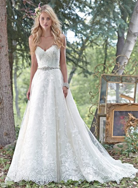 Ball Gown Wedding Dress | Kleinfeld Bridal With Regard To Sleek And Big Princess Ball Gown Updos For Brides (View 11 of 25)