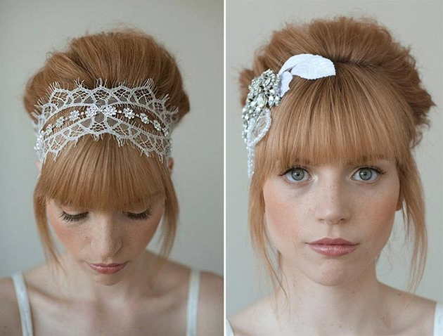 Bangs | Fashionisers© Inside Short Wedding Hairstyles With A Swanky Headband (View 25 of 25)