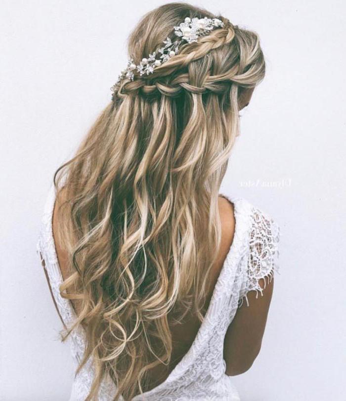 Beautiful Bridal Mermaid Hair Ideas | Mermaid Wedding Ideas With Mermaid Inspired Hairstyles For Wedding (View 6 of 25)