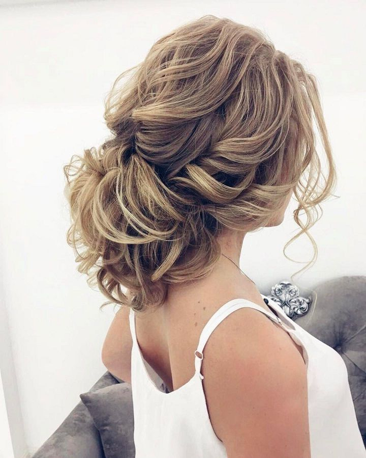Beautiful Messy Updo Wedding Hairstyle For Romantic Brides (View 18 of 25)