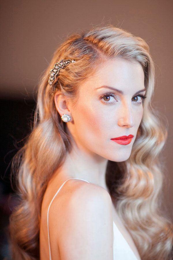 Beauty Inspiration: Hairstyles For A Retro Wedding — The Excited In Retro Glam Wedding Hairstyles (View 22 of 25)