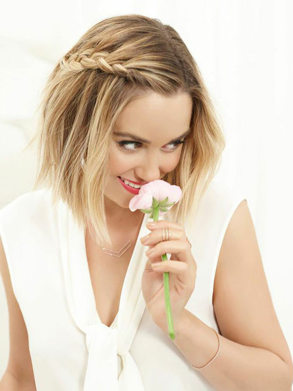Beauty School: How To Get My Beachy Side Braid – Lauren Conrad With Short Side Braid Bridal Hairstyles (View 8 of 25)