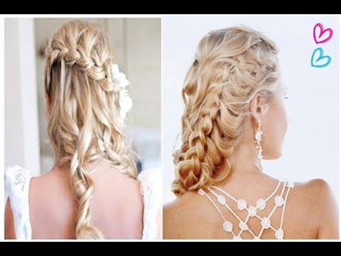 Best Easy Half Up Half Down Hairstyles, Prom Curly Wedding With Half Up Curls Hairstyles For Wedding (View 19 of 25)