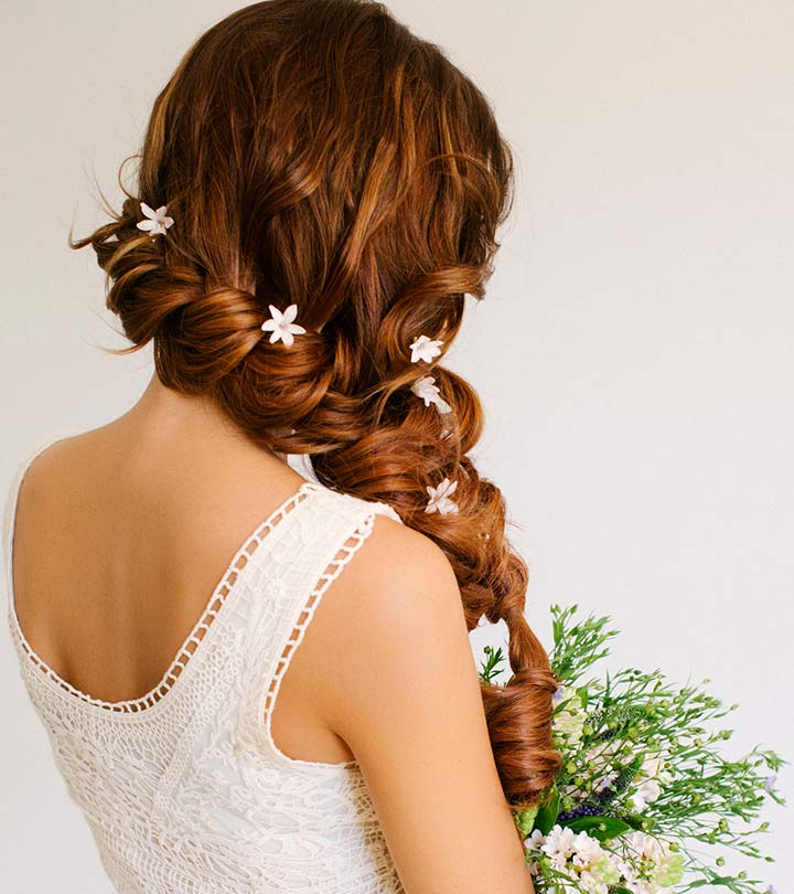 Best Indian Wedding Hairstyles For Christian Brides – Our Top 11 Within Bouffant And Chignon Bridal Updos For Long Hair (View 11 of 25)