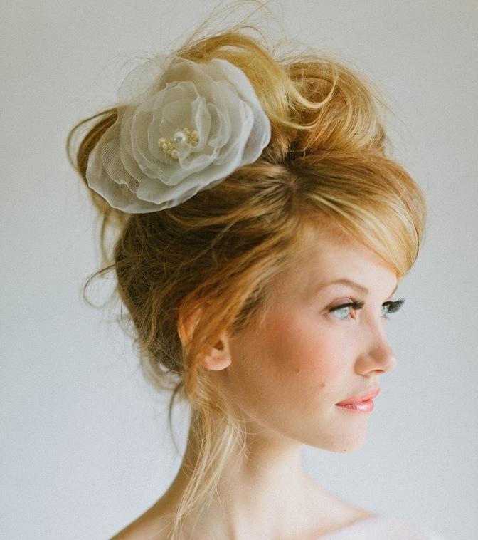 Best Ladies Wedding Hairstyles 2019 With Regard To Voluminous Side Wedding Updos (View 8 of 25)