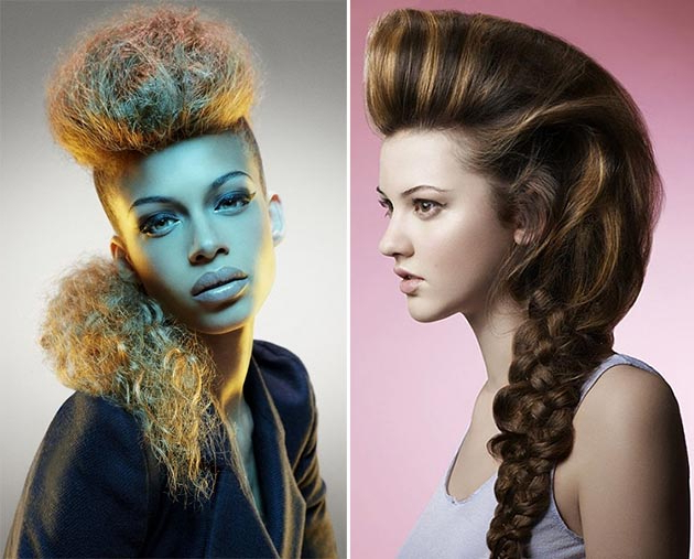 Best Mohawk And Fauxhawk Hairstyles For Women   Fashionisers© Throughout Short Hair Wedding Fauxhawk Hairstyles With Shaved Sides (View 20 of 25)