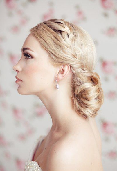 Blonde With Buns And Pigtail #hot #sexy #hairstyles #hairstyle #hair Inside White Blonde Twisted Hairdos For Wedding (View 10 of 25)