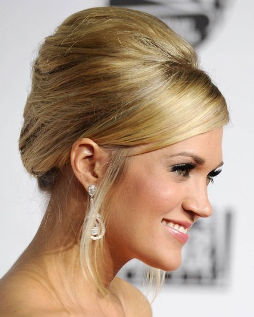 Bouffant Hairstyles – Haircuts – Hairdos – Careforhair.co (View 23 of 25)