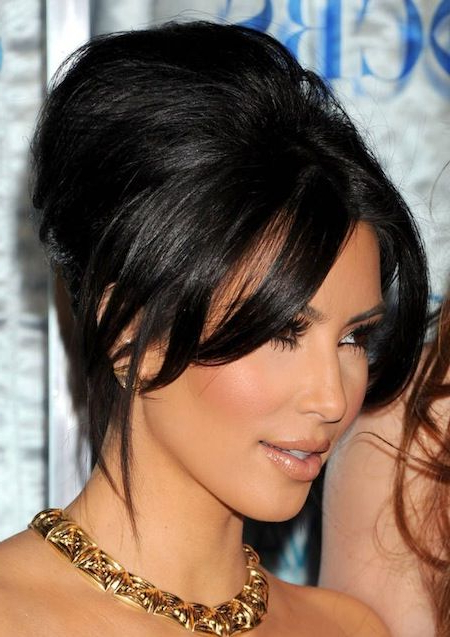 Bouffant Updo For Long Hair – Gorgeous But Easy Hairstyle For Long Inside Lovely Bouffant Updo Hairstyles For Long Hair (View 14 of 25)