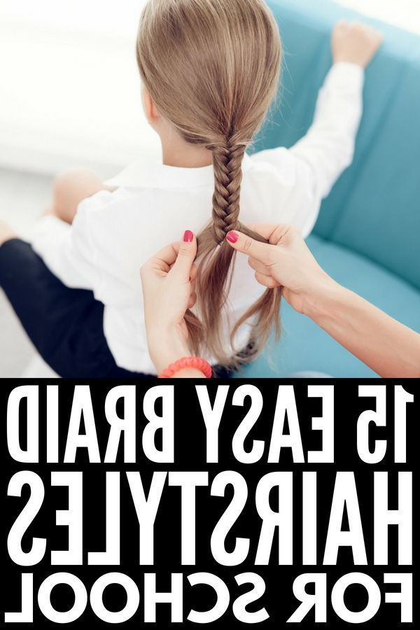 Braid Hairstyles For Kids: 15 Step By Step Tutorials To Inspire You For Simplified Waterfall Braid Wedding Hairstyles (View 23 of 25)