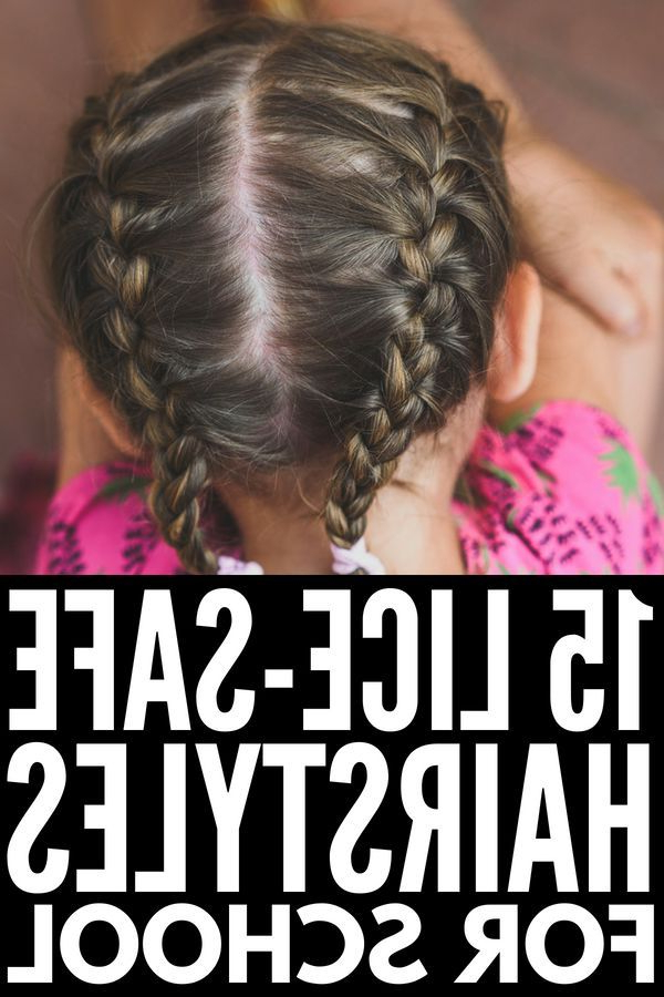 Braid Hairstyles For Kids: 15 Step By Step Tutorials To Inspire You In Simplified Waterfall Braid Wedding Hairstyles (View 19 of 25)