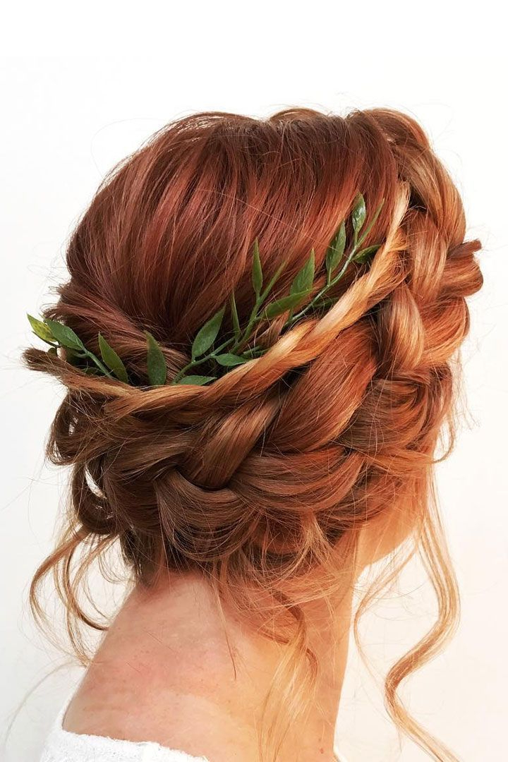 Braid Half Up Half Down Hairstyle For Long Hair That You'll Love For Semi Bouffant Bridal Hairstyles With Long Bangs (View 15 of 25)