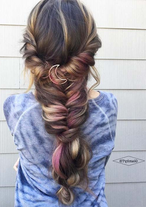 Braided | Fashionisers© Throughout Braided Lavender Bridal Hairstyles (View 10 of 25)