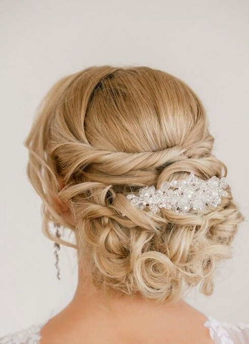Braided Low Bun | Wedding Hairstyles | Pinterest | Wedding Intended For Wedding Low Bun Bridal Hairstyles (View 9 of 25)