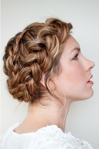 Bridal Beauty: The Hottest Braids Of The Season! » Buffalo Indie Intended For Highlighted Braided Crown Bridal Hairstyles (View 16 of 25)