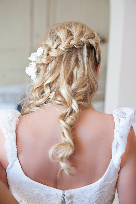 Bridal Braids: A Collection Of Style Inspiration And Pinteresting With French Braided Halfdo Bridal Hairstyles (View 25 of 25)