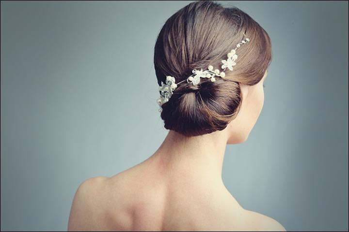 Bridal Hairstyles: 38 Gorgeous Looks For This Wedding Season In Bouffant And Chignon Bridal Updos For Long Hair (View 22 of 25)
