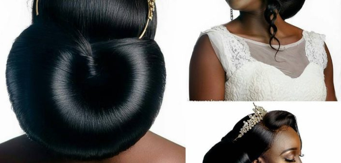 Bridal Hairstyles: 41 Wedding Hairstyles For Black Women – Click042 Regarding Wedding Low Bun Bridal Hairstyles (View 21 of 25)