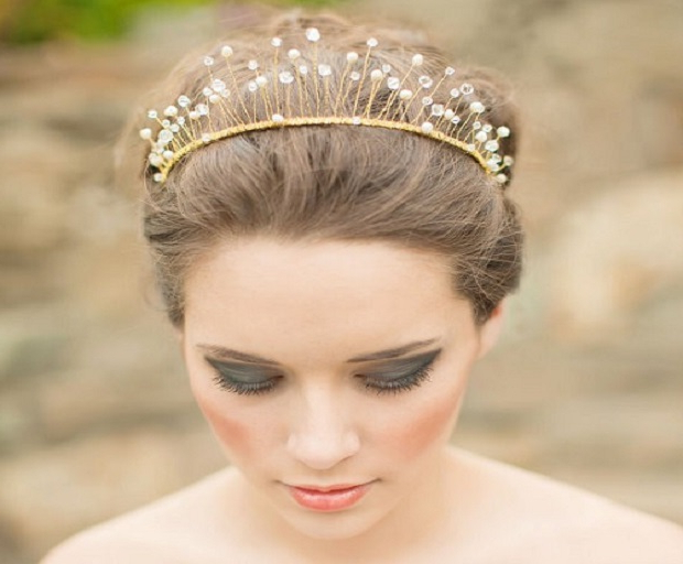Bridal Hairstyles Archives – She'said' With Regard To Crown Braid, Bouffant And Headpiece Bridal Hairstyles (View 19 of 25)