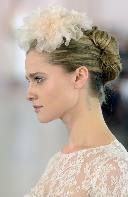 Bridal Hairstyles | Fashionisers© In Darling Bridal Hairstyles With Circular Twists (View 24 of 25)