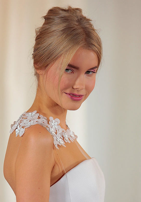 Bridal Hairstyles | Fashionisers© Throughout Darling Bridal Hairstyles With Circular Twists (View 19 of 25)