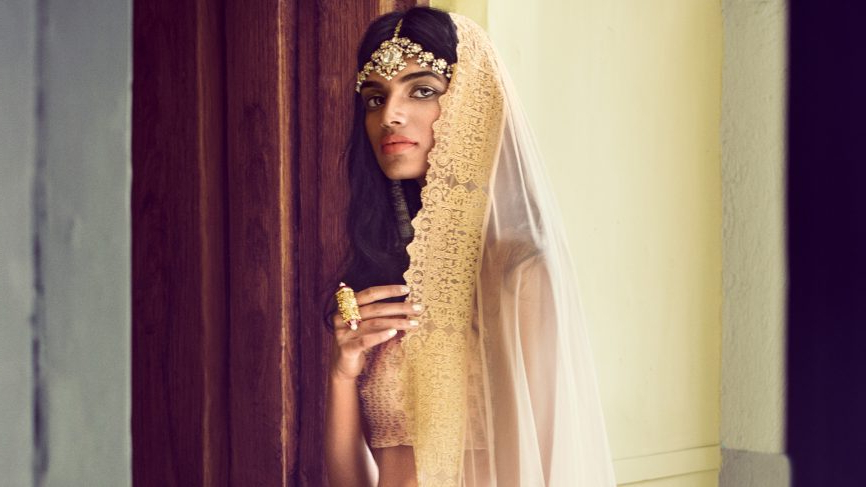 Bridal Hairstyles For Indian Wedding – Best Indian Bridal Hairstyles Intended For Sleek And Voluminous Beehive Bridal Hairstyles (View 24 of 25)