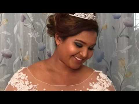 Bridal Makeup & Hair @ Tender Locks – Youtube For Tender Bridal Hairstyles With A Veil (View 16 of 25)