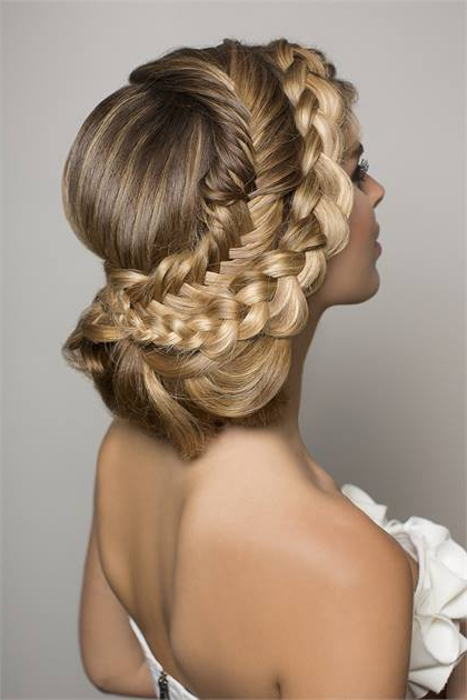 Bridal Style: Infinity Headband Braid – Hairstyling & Updos – Modern Within Infinity Wedding Updos (View 11 of 25)