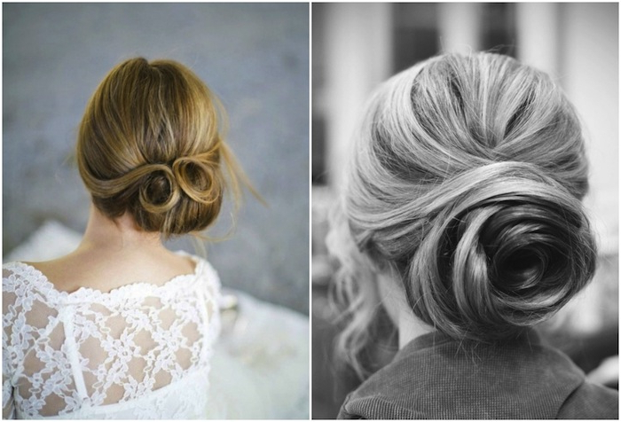Bridal Twist Bun Wedding Updo – Tania Maras | Bespoke Wedding Within Embellished Twisted Bun For Brides (View 3 of 25)