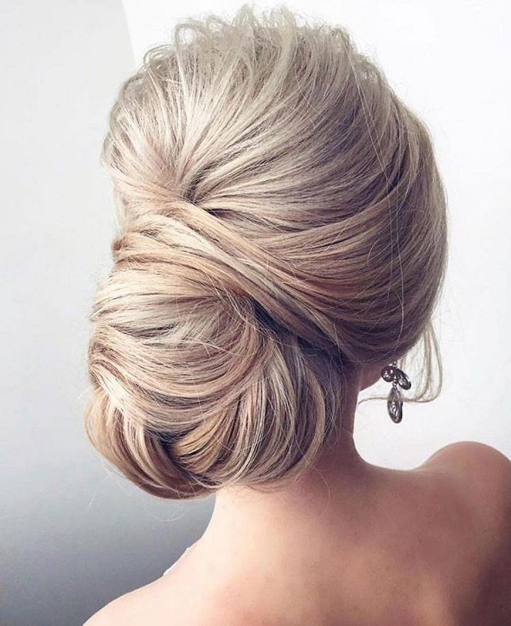 Chignon Hairstyles For Long Hair | H A I R | Pinterest | Wedding For Chic And Sophisticated Chignon Hairstyles For Wedding (View 3 of 25)