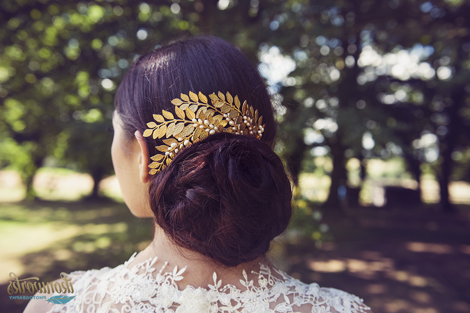 Choosing Your Wedding Hairstyle – Brides Of Winchester Pertaining To Embellished Caramel Blonde Chignon Bridal Hairstyles (View 20 of 25)