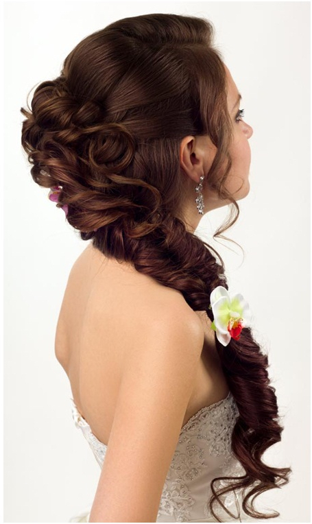 Christian Wedding Hairstyles With Veil – Indian Christian Hairstyles Inside Brushed Back Bun Bridal Hairstyles (View 16 of 25)