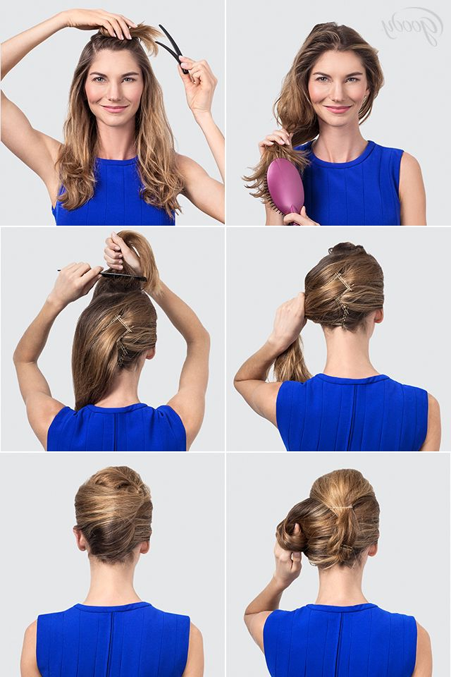 Create A Beautiful French Twist With This Goody Tutorial (View 15 of 25)