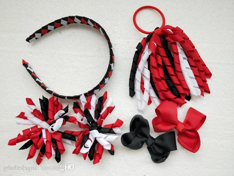 Curly Ribbon Korker Ponytail Holders Streamers Woven Headbands Hair For Ponytail Bridal Hairstyles With Headband And Bow (View 18 of 25)