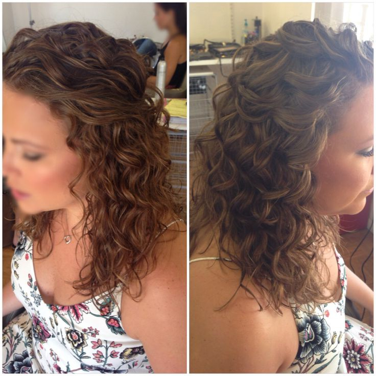"""Curly Wedding Hairstyles 