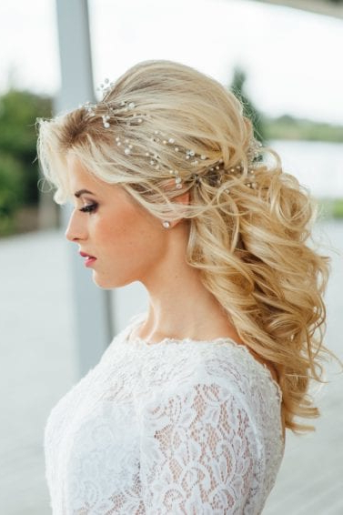 Discover 20 Bridal Hairstyles To Try This Wedding Season | All With Regard To Bouffant Half Updo Wedding Hairstyles For Long Hair (View 23 of 25)