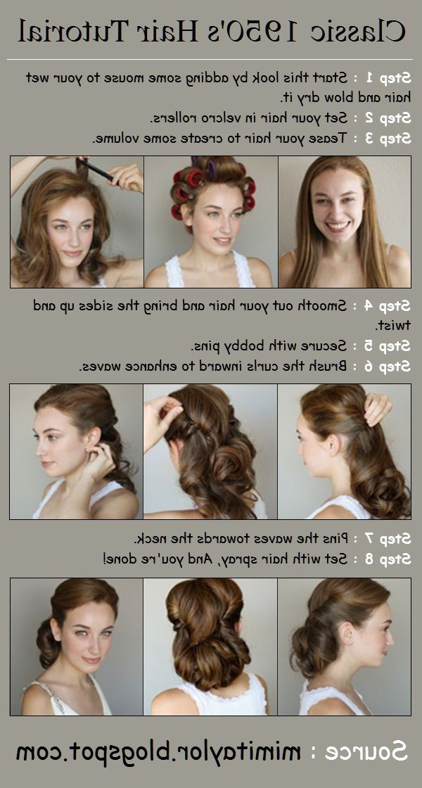 Diy Projects At Home: How To Style Waves | Stacys | Hair Styles In Large Hair Rollers Bridal Hairstyles (View 3 of 25)