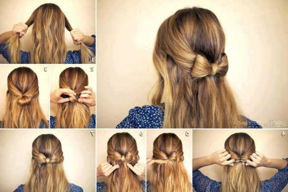 Diy Wedding Hairstyle | Cute Hairstyles With Simple And Cute Wedding Hairstyles For Long Hair (View 15 of 25)