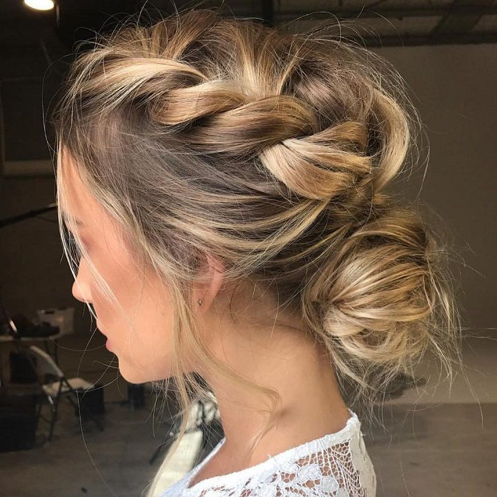 Drop Dead Gorgeous Loose Updo Hairstyle | Wedding | Pinterest | Hair pertaining to Woven Updos With Tendrils For Wedding