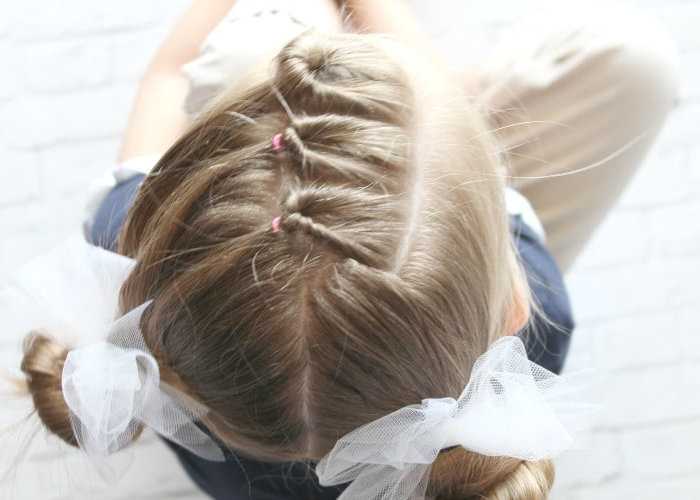 Easy Little Girls Hairstyles – 10 Cutest Ideas In 5 Minutes Or Less! Throughout Short Side Braid Bridal Hairstyles (View 24 of 25)